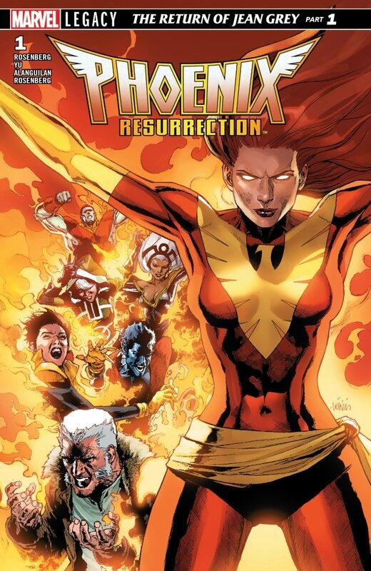 phoenix resurrection the return of jean grey 01
