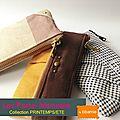 Les porte-monnaie, collection printemps/ete 2013