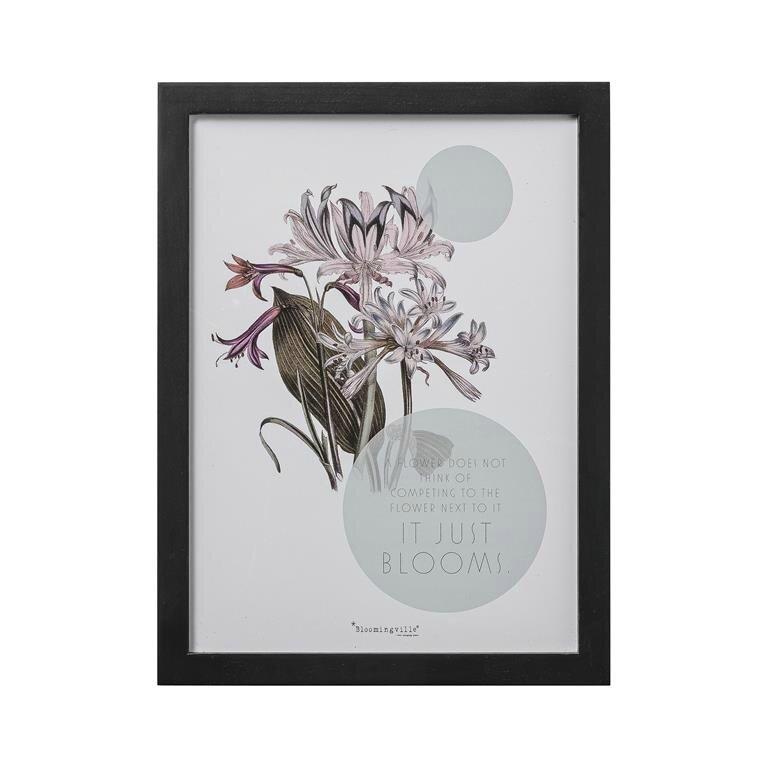 frame blooms