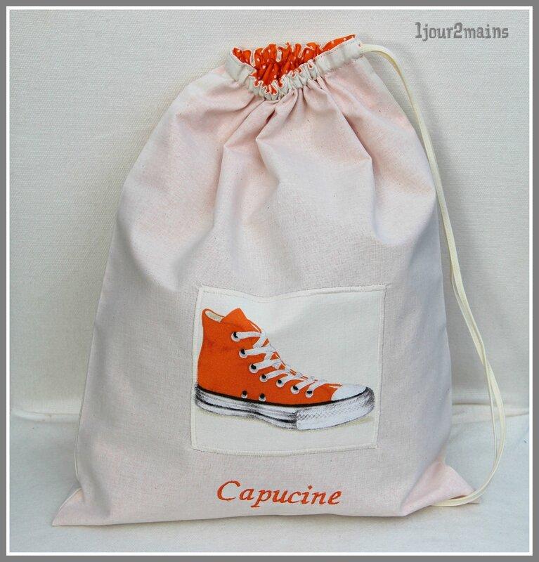 sac chaussures capucine