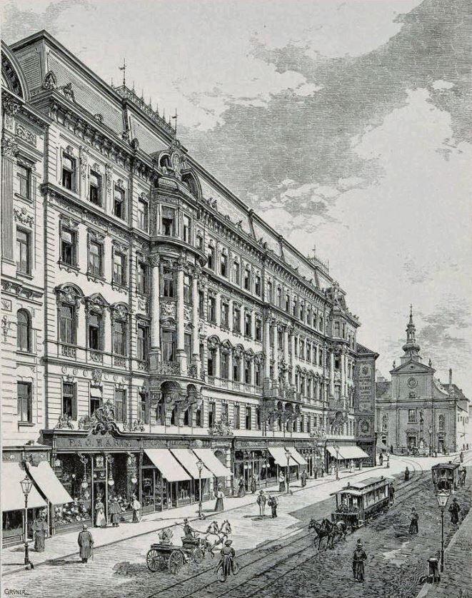 The 'Habighof', Haupstraße, Vienna 1900