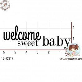 tampon-welcome-sweet-baby-par-binka