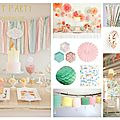 Inspirations anniversaire enfant #3 : sweet party !
