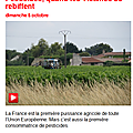 Interception : pesticides, quand les victimes se rebiffent.
