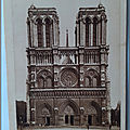 Notre Dame - Façade XIIe et XIIIe