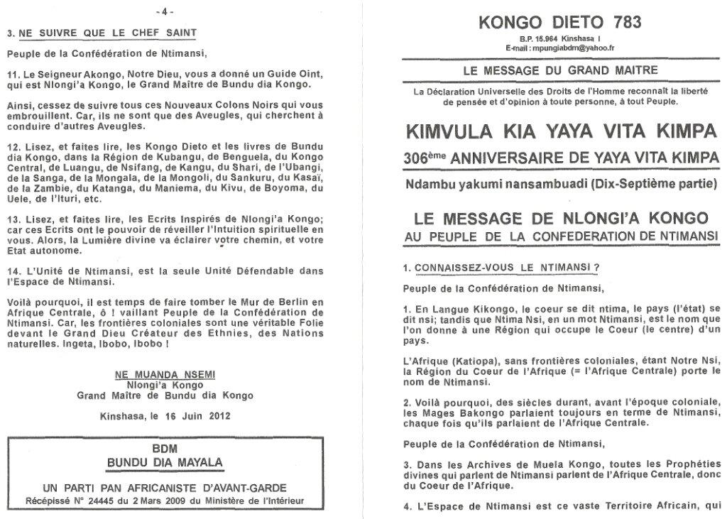 KONGO DIETO 783 a