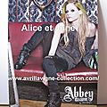Panneau promotionnel Abbey Dawn-printemps 2012
