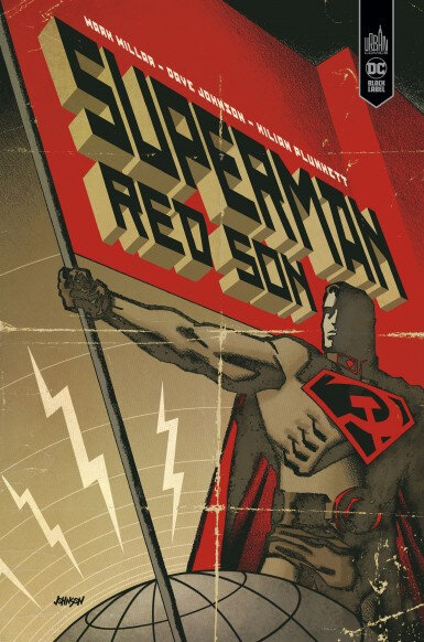 Urban Black Label Superman Red Son par Mark Millar