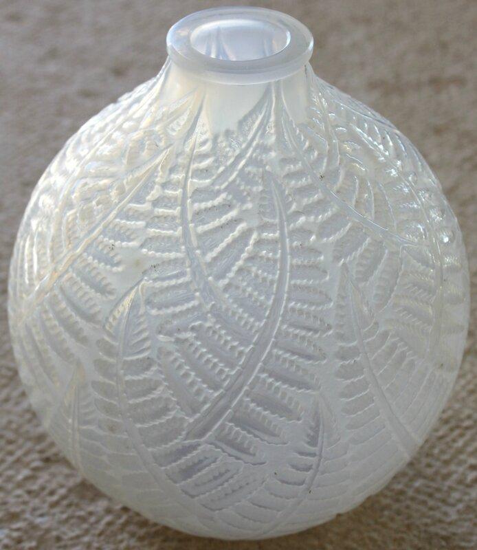 Vase Lalique Espalion