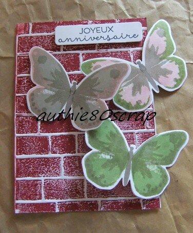 carte papillon 013