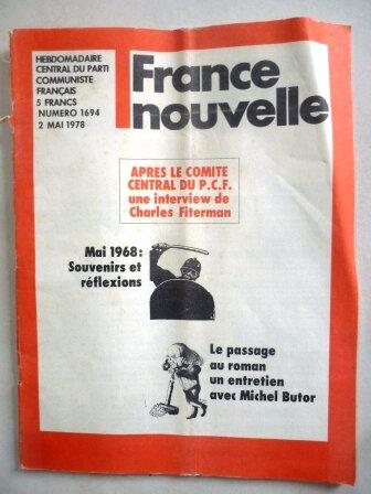 France Nouvelle 2 mai 1978