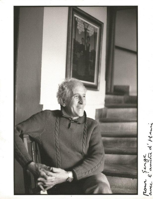Henri Cartier-Bresson. In memoriam.