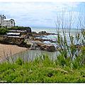 Plage Port Vieux Villa Bezza Biarritz