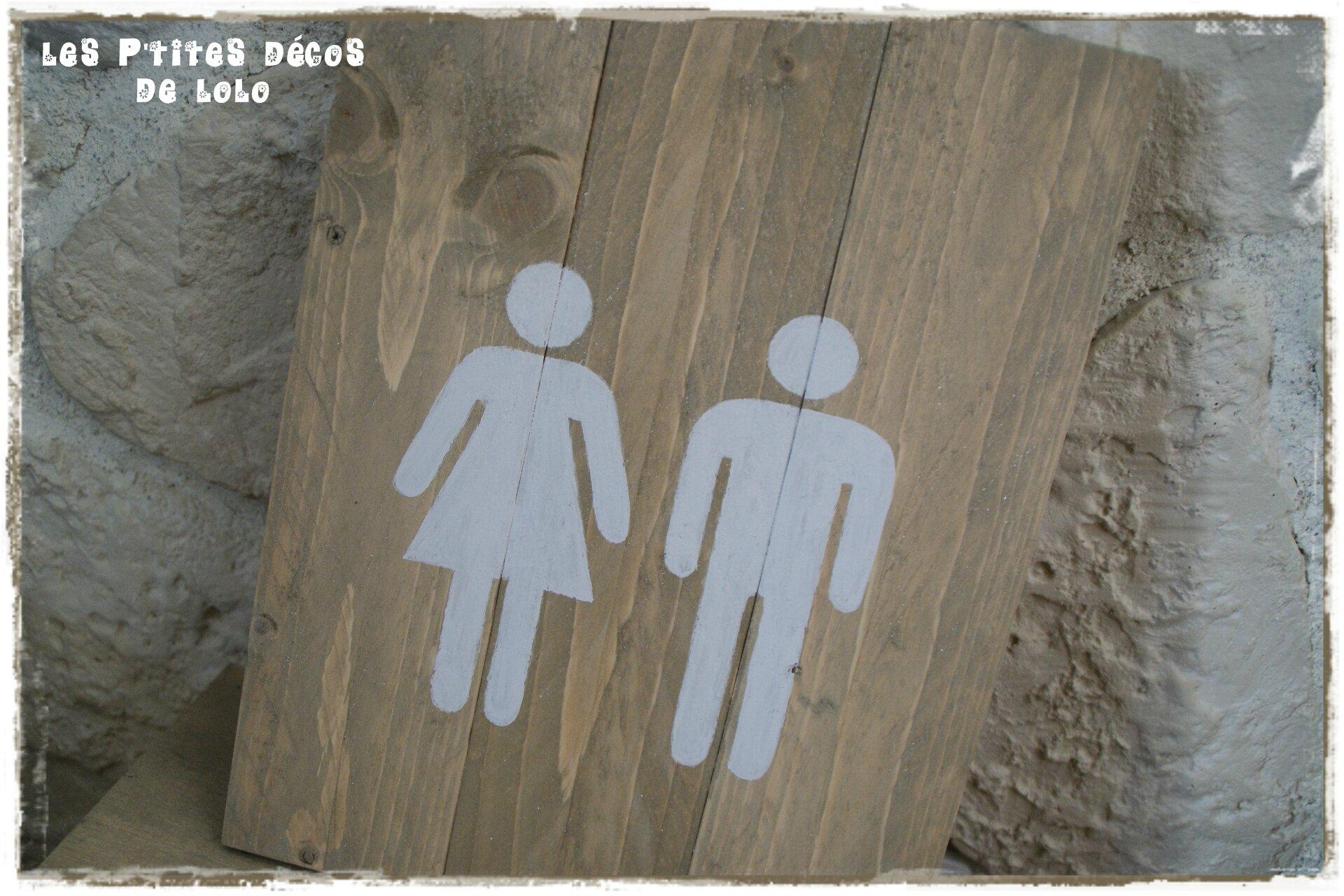 cadre picto toilettes