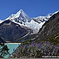 Cordillera blanca – attention, belles montagnes – wunderbare berge