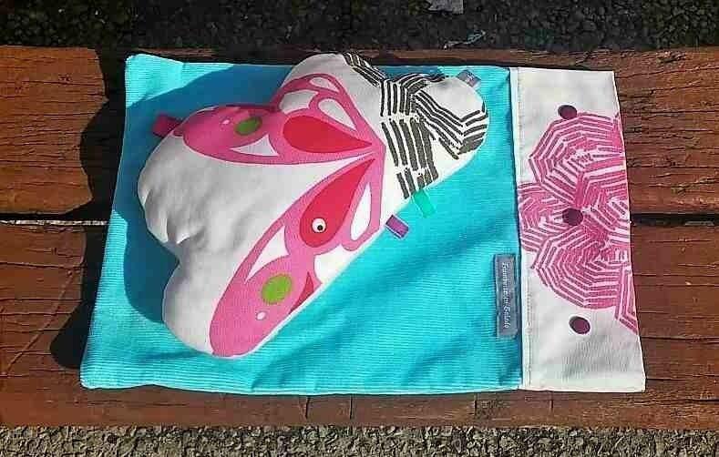 Doudou Nuage Multicolore avec son sac-01-compressé