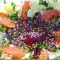 Salade colorée fraîcheur