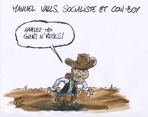 Piet Valls cow boy socialo