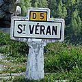 Les alpes -8- st véran, le village