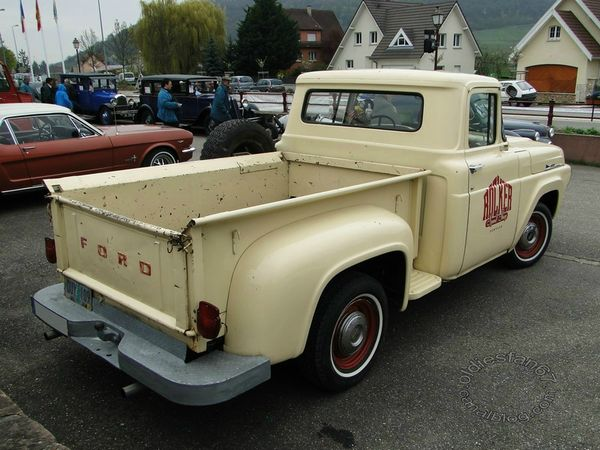 ford f100 flareside 1958 4
