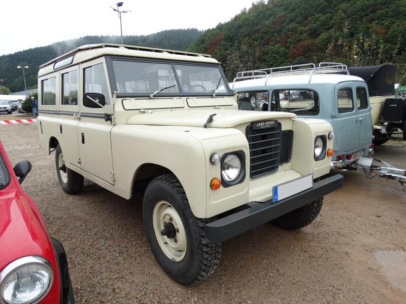 SANTANA Land Rover Series III Station Wagon Malmedy (1)
