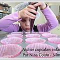 Atelier cupcakes enfants à nîmes ... les photos