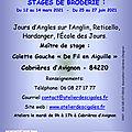 Cigales_afficheStage_2020-2021_mars_juin