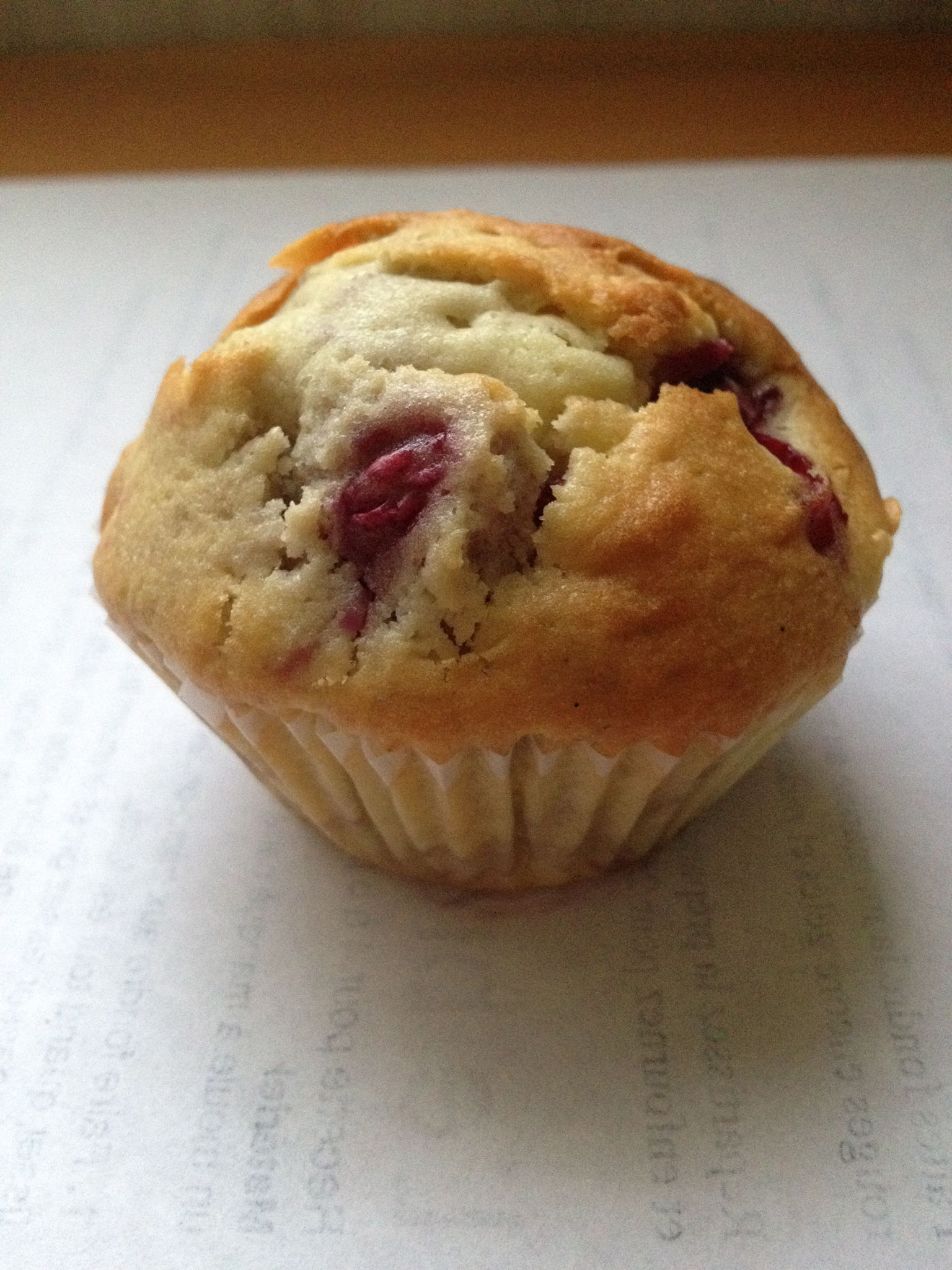 Muffin aux fruits rouges