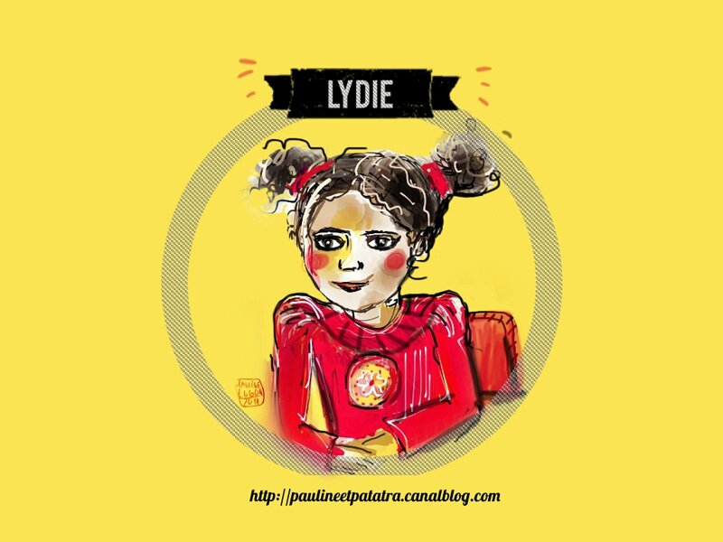 Lydie -Illustration © Pauline Lugon