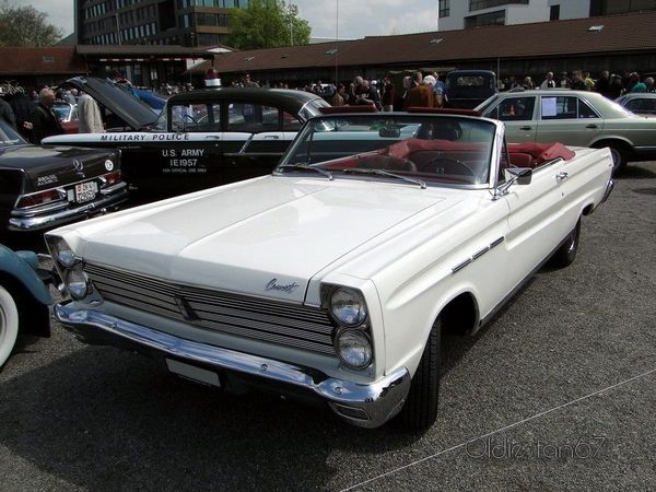mercury comet caliente convertible 1965 1