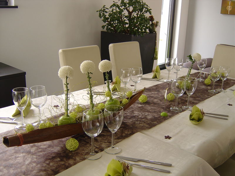 IDEE DECO DE TABLE