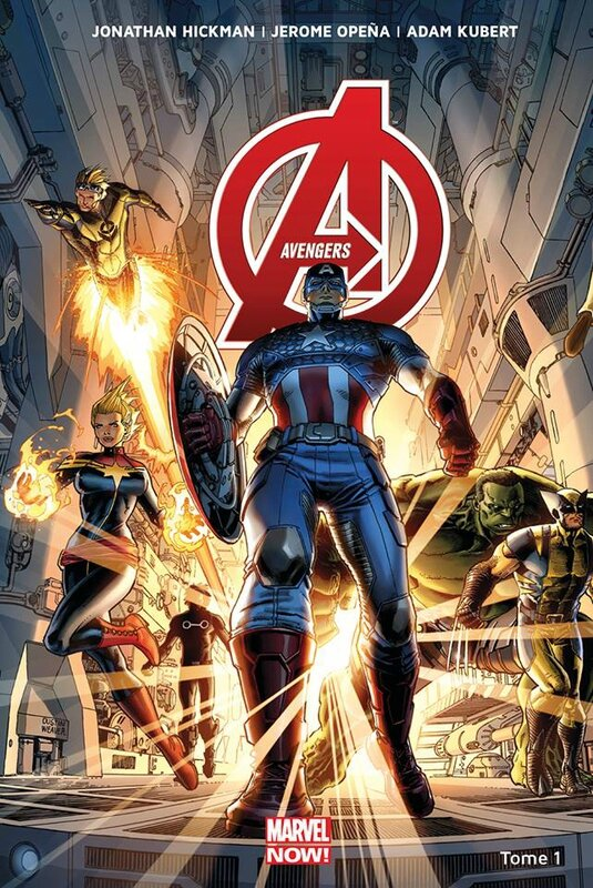 Panini Marvel Now Avengers par Hickman