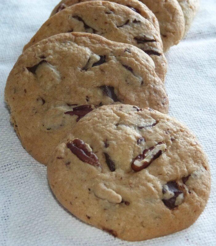 cookies noix de pecan
