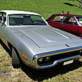 Plymouth satellite hardtop coupe-1972