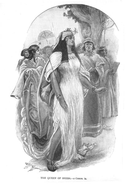 Queen_of_Shebaهذه هي نيكول او بلقيس ملكة سبأ