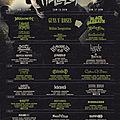 Hellfest 2012 - affiche finale
