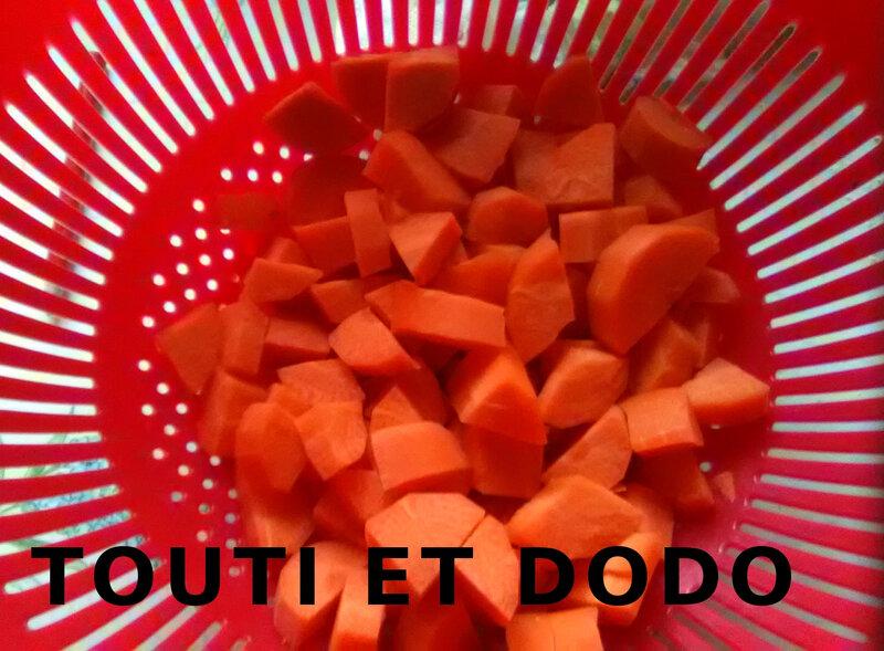 Velouté de carottes, patate douce et gingembre (3)