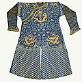Late qing dynasty chinese summer dragon robe, jifu