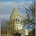 Saintes ( 17 ) l'abbaye aux dames