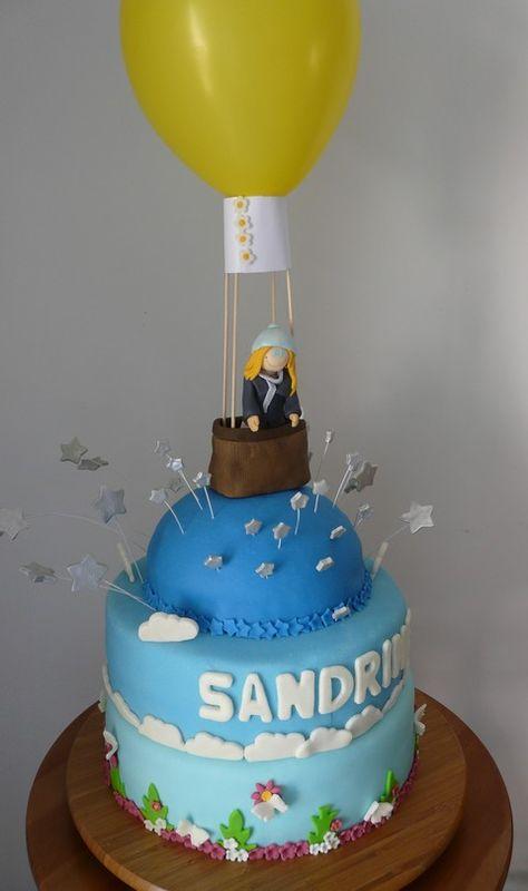 Gâteau Montgolfière 000