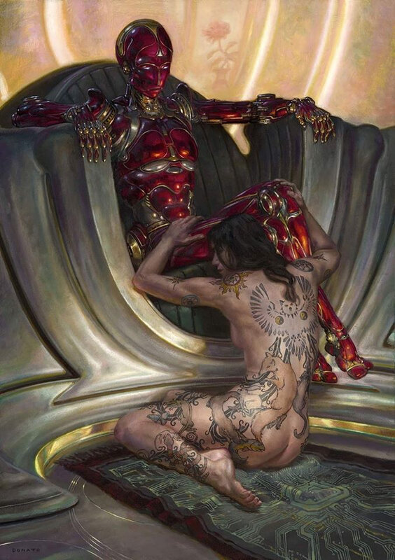 Donato Giancola Game of mind 2017