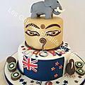 gâteau Nepal- New Zéland
