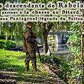 Les descendants de rabelais partent à la chasse au bitard, une pantagruel légende du poitou.