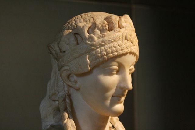 Une belle Etrusque (Musées Palatin)