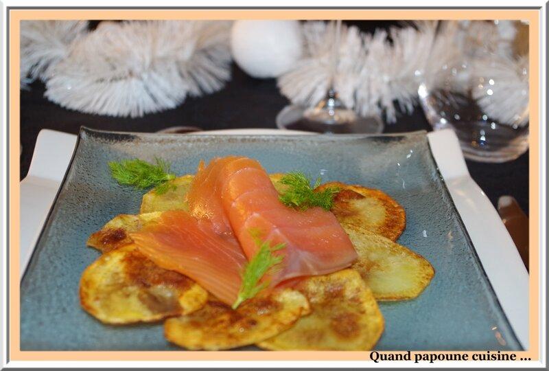 croustillants de pommes de terre au saumon fumé sabayon anis-1747