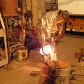 Coulage dans la coque céramique
