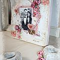 Triptyque shabby