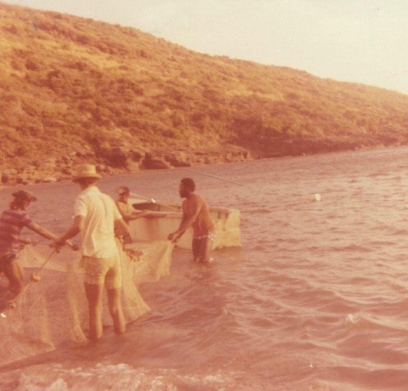 José et ses potes pêcheurs -Guadeloupe 75-76