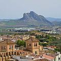 Antequera et sa forteresse arabe