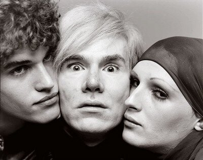 andy warhol, jay johnson et candy darling new-york aout 1969